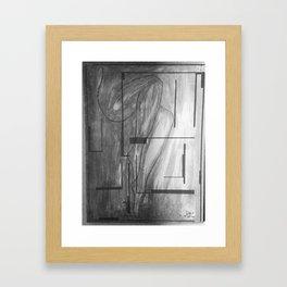 Dark Sister 2 Framed Art Print