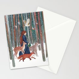 Through the Forest Stationery Cards