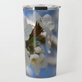 Beautiful Delicate Cherry Blossom Flowers Travel Mug
