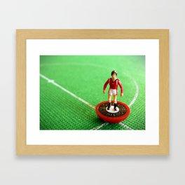 Manchester United Subbuteo Player 1985 Framed Art Print