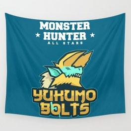 Monster Hunter All Stars - The Yukumo Bolts Wall Tapestry