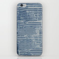 Indgo Paste Print iPhone & iPod Skin