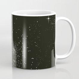 Dark night and stars Coffee Mug