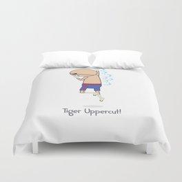 Tiger Uppercut Duvet Cover