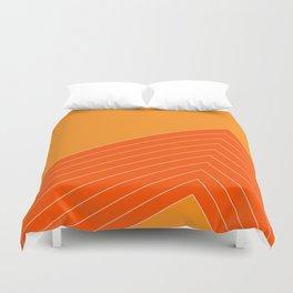 Orange Crush Range Duvet Cover