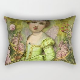 Garden Delight Rectangular Pillow