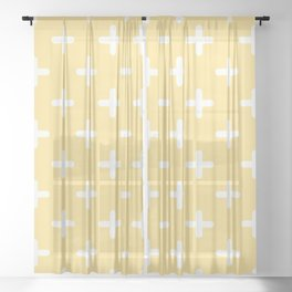 And Sheer Curtain
