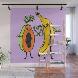 Love between woman and man Wall Mural