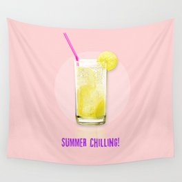 Summer Chilling! Wall Tapestry