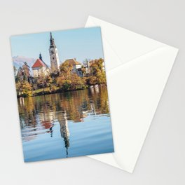Lake Bled Reflections Stationery Cards