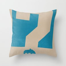 Doctor  Who? Throw Pillow