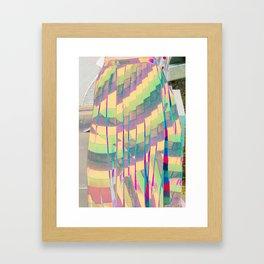 pastel prism Framed Art Print