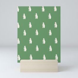Jolly Polar Bears Mini Art Print