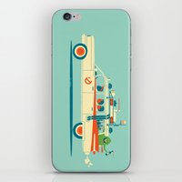 party iPhone & iPod Skins featuring Party in the Back by Jay Fleck