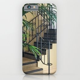Secret Stair Steps to a Romantic Hideaway iPhone Case