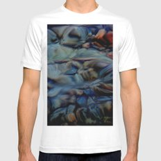 transparency White MEDIUM Mens Fitted Tee