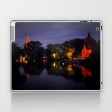 Brussels at night Laptop & iPad Skin
