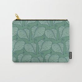Sage Vines Carry-All Pouch
