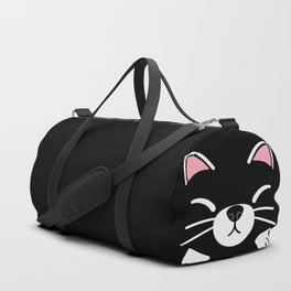 Black Tuxedo Cat Duffle Bag