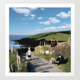 Michael Collins - The Road to Clonakilty Art Print