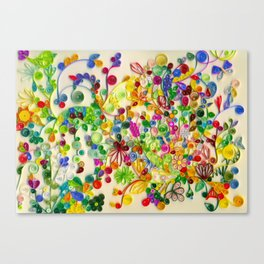 My little garden Canvas Print