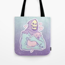 Skeletor's Cat Tote Bag
