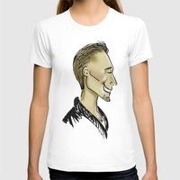 sweater T-shirts featuring Hiddles Sweater by Rowena Leavy