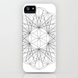 Seed cube rewrite iPhone Case