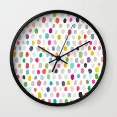 fava 5 sq Wall Clock