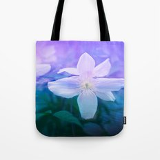 aquatic flowers, romantic garden. Worldwide Shipping Tote Bag