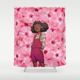 Dream Daddy: Carmensita Shower Curtain