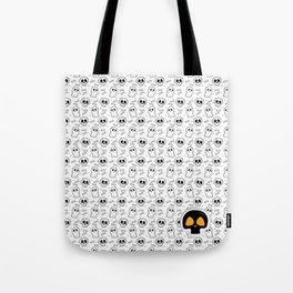 Halloween Skull Head Pattern Tote Bag