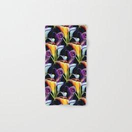 Watercolor Calla Lilies Hand & Bath Towel