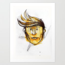 This guy I know... Art Print