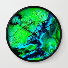 Mother Lagoon Wall Clock