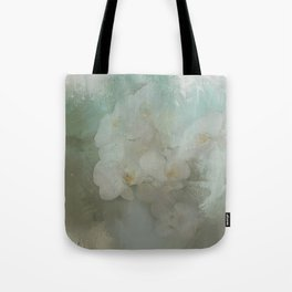 Abstract Tropical Flora Tote Bag