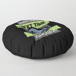 Hate Cops Next Time Call A Creackhead Polizei Unterstützer product Floor Pillow