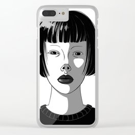 A Portrait Clear iPhone Case
