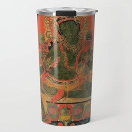 Hindu Krishna Tapestry Travel Mug