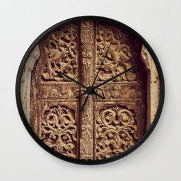 Doors Of Rajasthan 3 Wall Clock