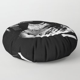 Food Baby Burger Floor Pillow