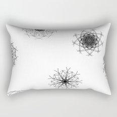 mandalas in the air Rectangular Pillow