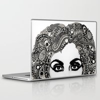 psych Laptop & iPad Skins featuring psych hair by Blak Hand