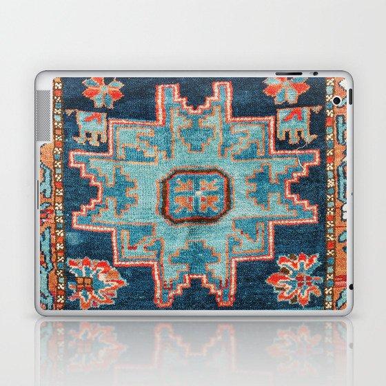 Karabakh  Antique South Caucasus Azerbaijan Rug Print Laptop & iPad Skin