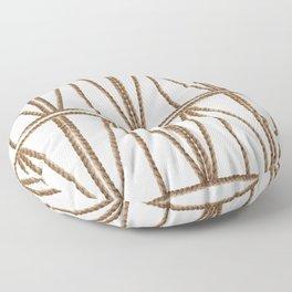 Geometric Ropes Floor Pillow