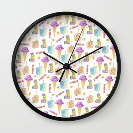 Sweets and Treats Wall Clock