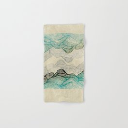 Crash Into Me Waves Hand & Bath Towel