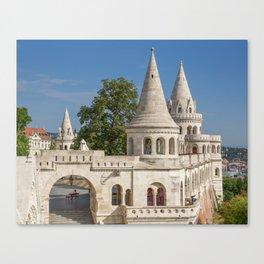 Budapest Fisherman's Bastion Canvas Print