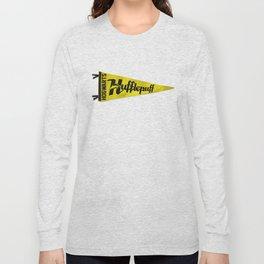 Hufflepuff 1948 Vintage Pennant Long Sleeve T-shirt