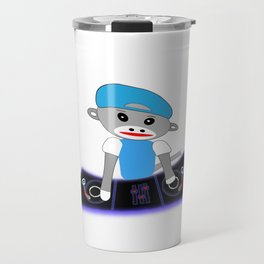 Dj Monkey Travel Mug